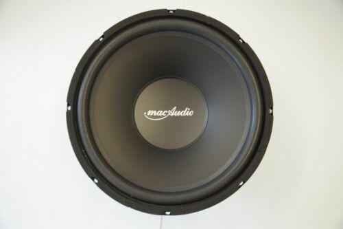 Mac Audio red Attack Tube 30 subwoofer Bass altavoces 440 vatios máx. nuevo