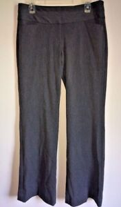 Express-Women-s-Dress-Pants-Trousers-Editor-Gray-Sz-8R-Stretch-Career-Wear-G11