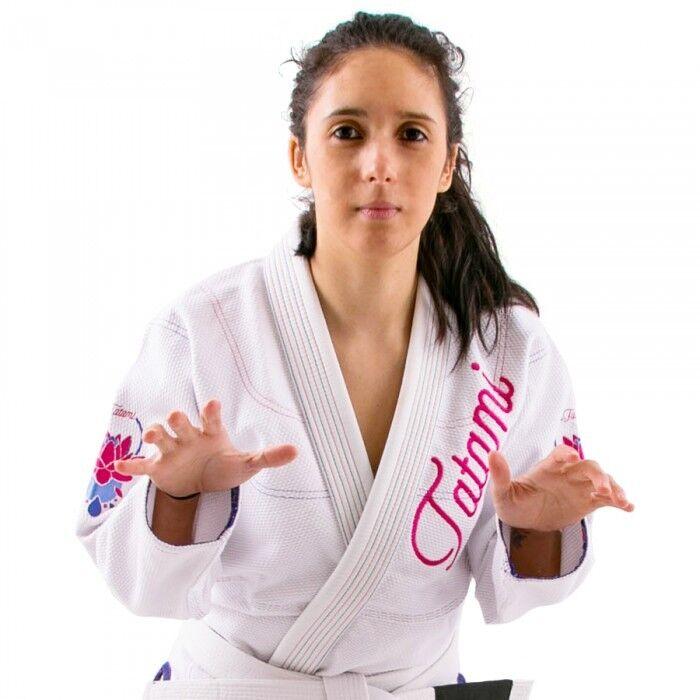 Tatami  Lotus Ladies BJJ Gi White Pink Brazilian Jiu Jitsu Suit Uniform Womens  store online