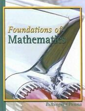 Foundations of Mathematics by Bittinger, Marvin L.; Penna, Judith A.