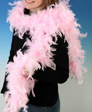 Rosa 150cm FEATHER BOA Burlesque Hen Night Danza Costume Outfit