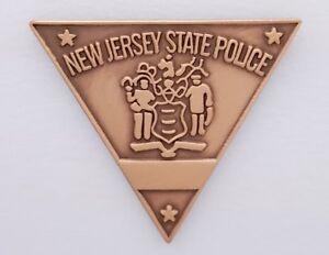 New Jersey NJ State Police Mini Badge Lapel Pin NJSP