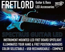 FRETLORD Multicolor Guitar LED Fret Board Light Illuminator USB Rechargeable NEW