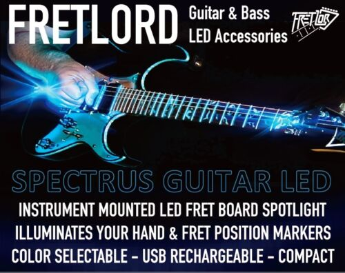 Guitar Fret Board LED Light GREEN FRETLORD SPECTRUS