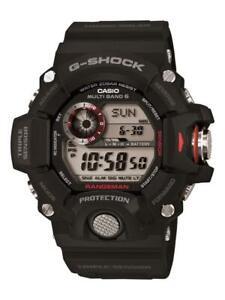 NEW G-Shock Master of G Rangeman GW-9400-1 Black Analog Mens Watch GW94001