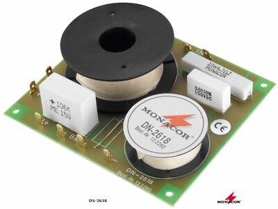 Frequenzweiche Monacor Dn-2618 (8 Ohm, 2-weg, 3000hz, 6/18db) Kataloge Werden Auf Anfrage Verschickt