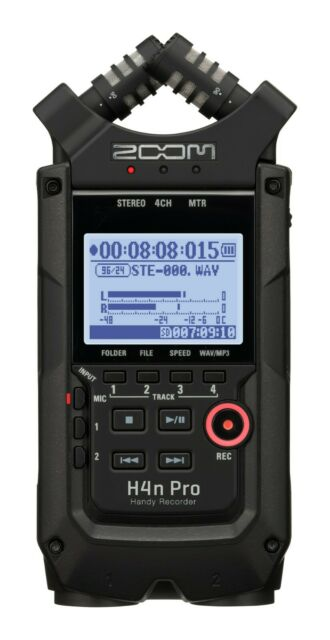 Zoom H4n Pro Handy Handheld Digital Audio Recorder With Cubase Le