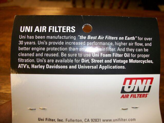 Kawasaki  Air filter Big horn F9 350 Vintage UNI filter NU-2302 1972-1973