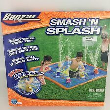 BANZAI SMASH N SPLASH WATER STOMP SPLASH PAD MAT OUTDOOR TOY SPRINKLER  HG2
