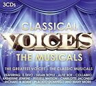 Classical Voices - The Musicals 3cds 0888751416727