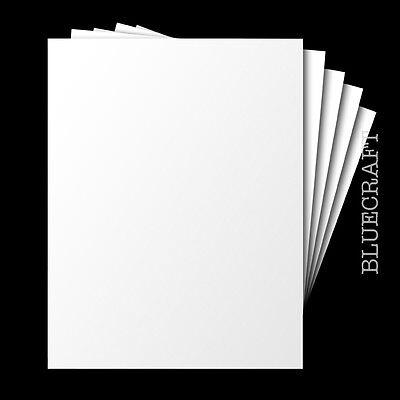 100 X A6 Blanco Pesado Competencia entrada en blanco tarjetas postales 250gsm