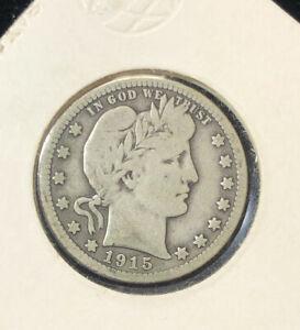 1915 quarter dollar coin