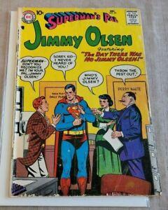 Superman's Pal Jimmy Olsen #25 1.0-1.5 DC Comics 1957