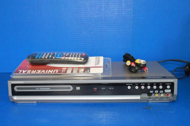 Magnavox MSR90D6 DVD Recorder Player DVD-R/DVD-RW DVD+R/RW