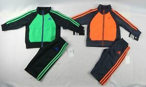 adidas-Baby-Boys-039-set-2-Piece-Sports-set-sizes-9-12-18-24-months