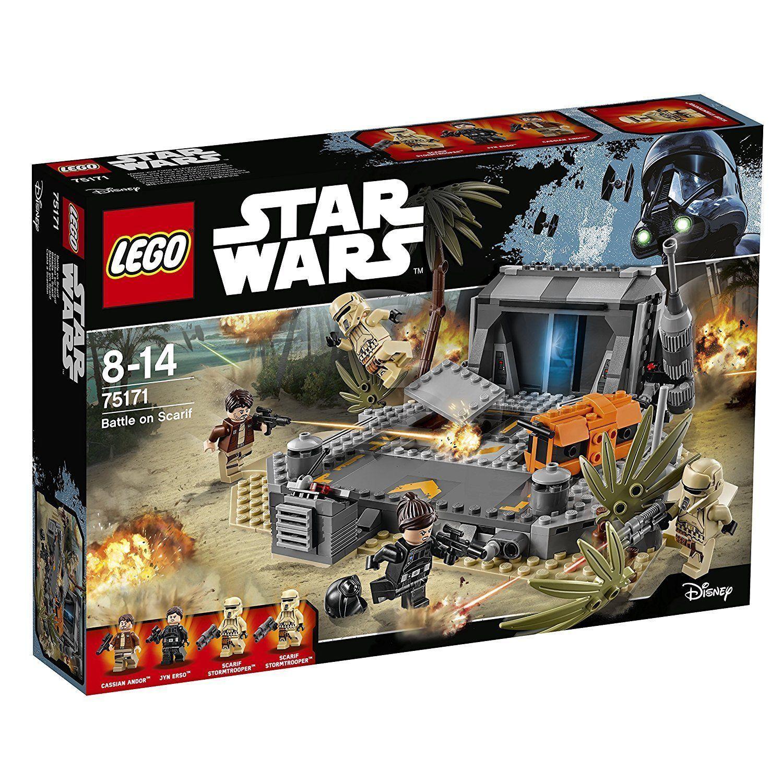 Lego ® Star Wars ™ 75171  Battle on scarif  Rogue one estrella muerte nuevo en el embalaje original New misb