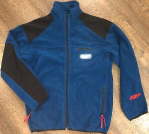 Vintage-Polo-Sport-Ralph-Lauren-Full-Zip-Up-Fleece-Jacket-Size-Large-Spell-Out
