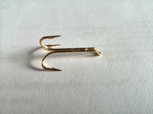 Esmond Drury Treble Salmon Hooks Gold//Silver//Black sizes 6-14 Fly Tying