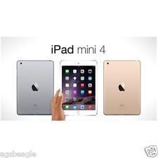 """#cybersale Apple Ipad Mini 4 Mini4 128gb WiFi 7.9"""" Tablet Brand New Agsbeagle"""
