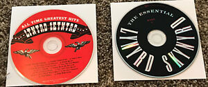 Lot Of 2 Lynyrd Skynyrd CDs All Time Greatest Hits & The Essential Disc 1