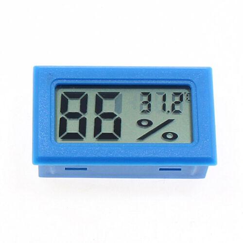 Digital Temperature Mini Humidity Gauge Thermometer Hygrometer Degre F//1 Meter#