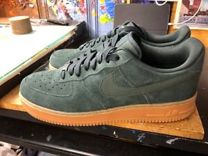 b23059a280375 Nike Air Force 1 '07 LV8 Suede Outdoor Green Size US 11.5 Men's ...
