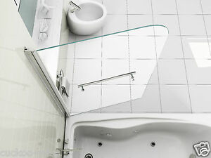 180-Pivot-Over-Bath-Shower-Screen-Door-Panel-6mm-Glass