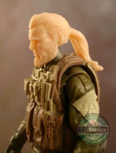 "MH340 Custom Cast Head utiliser avec 3.75/"" Marvel Uni Gi joe Star Wars Fallout figures"