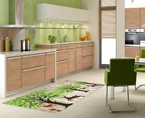 3D-Animaux-Arbre-Planche-52-Decor-Mural-Murale-De-Mur-De-Cuisine-AJ-WALLPAPER-FR