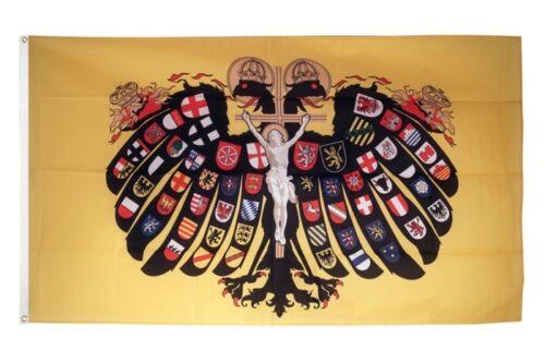 DRAPEAU Sacré Romain Empire allemand Nation quaterionenadler Drapeau profession