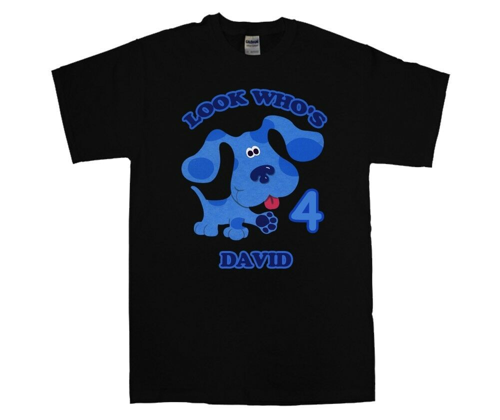 New Blues Clues Custom Personalized Birthday Shirt #2 Add Name /& Age