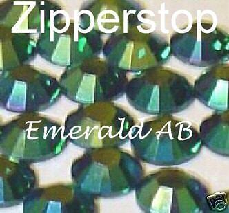 1,440 Swarovski Cristal Strass ~ 20ss ~ émeraude Aurora Borealis