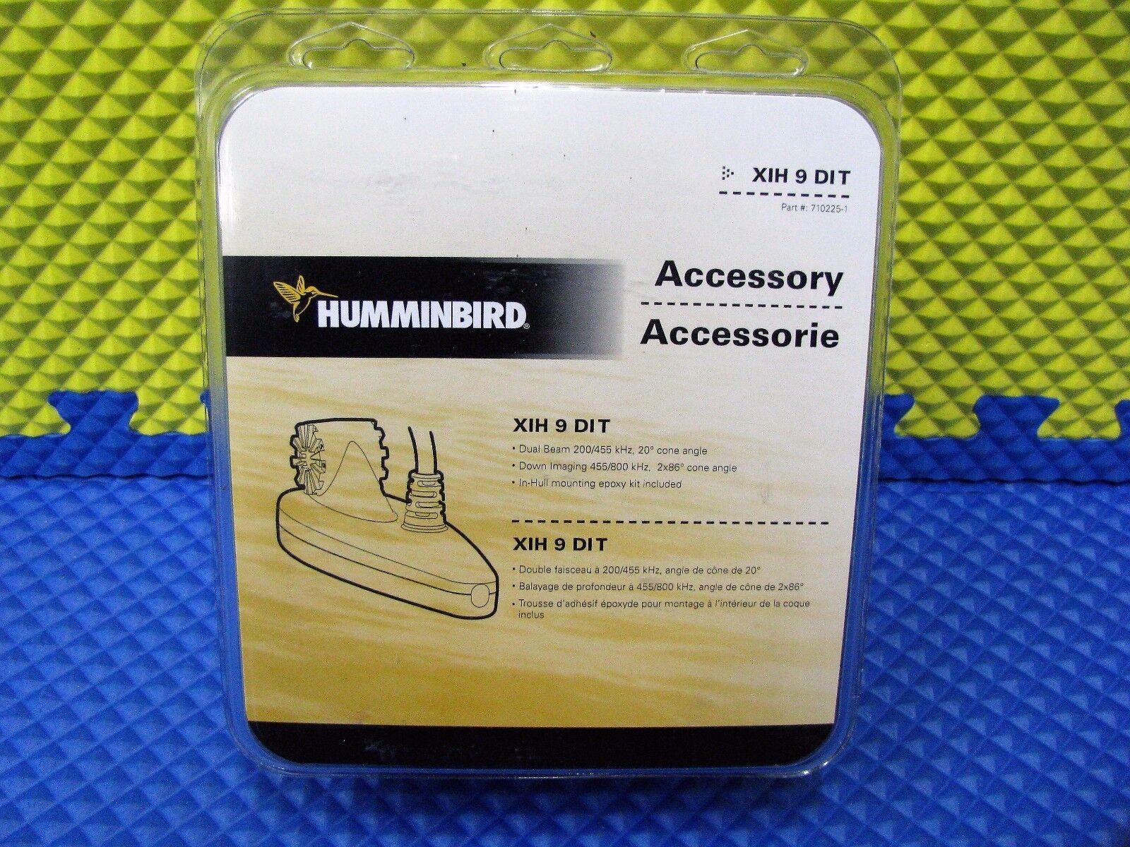Humminbird En-Hull montaje Down Imaging & Doble Haz XIH 9 Di T parte   710225-1