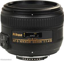NIKON 50MM F/1.4 G AF-S LENS - EXCELLENT CONDITION
