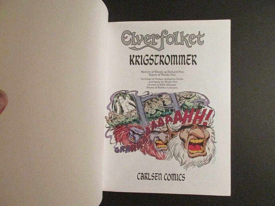 Tegneserier, Elverfolket, Album nr. 25 : Krigstrommer.
