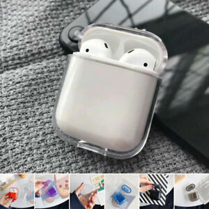 For Apple Airpods Clear Crystal Case Airpod Hard Pu Cover Protective Ebay