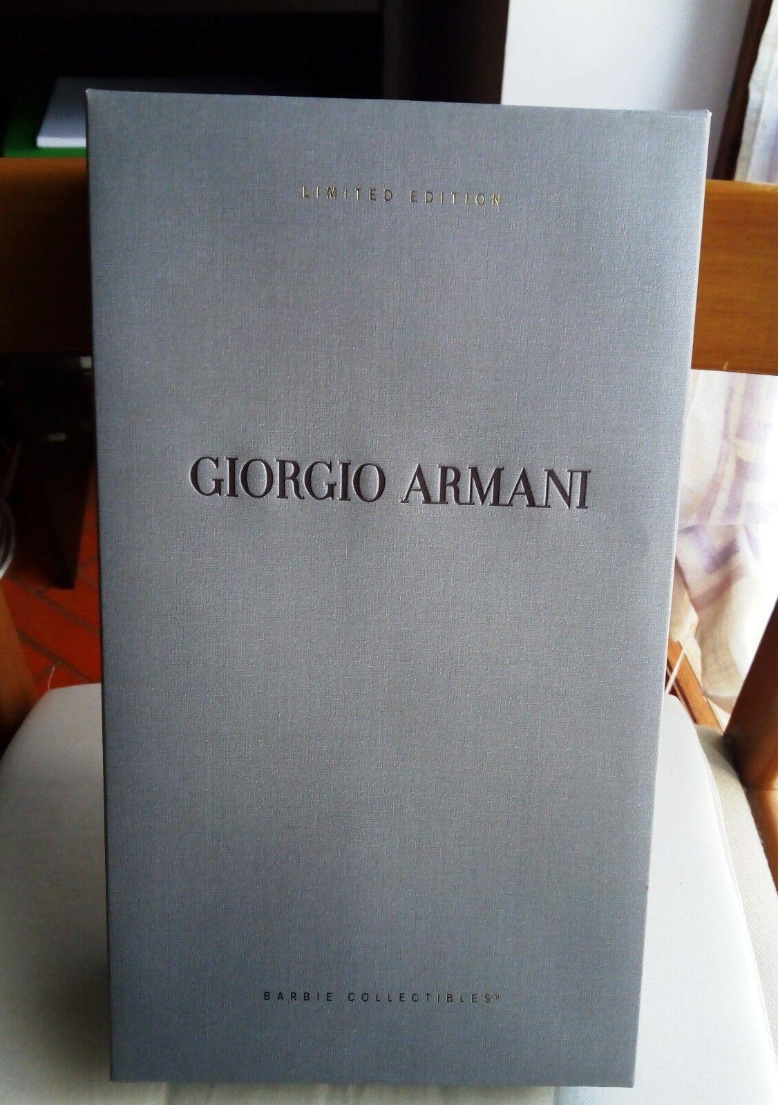 Barbie grandi stilisti Giorgio Armani