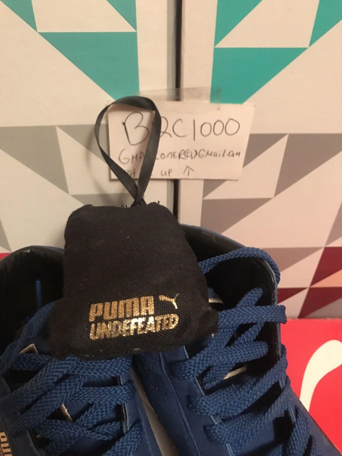 09 PUMA UNDFTD MID UNDEFEATED 24K oro PACK ROYAL blu blu blu bianca nero 348216-04 9.5 7b98da