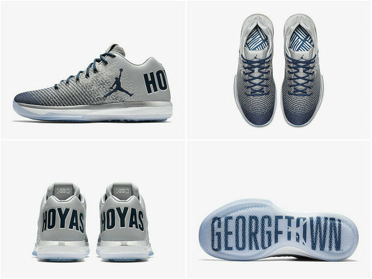Nike Air Jordan XXX1 31 Low size 10. Georgetown Hoyas PE. 897564-007. grey navy Seasonal price cuts, discount benefits