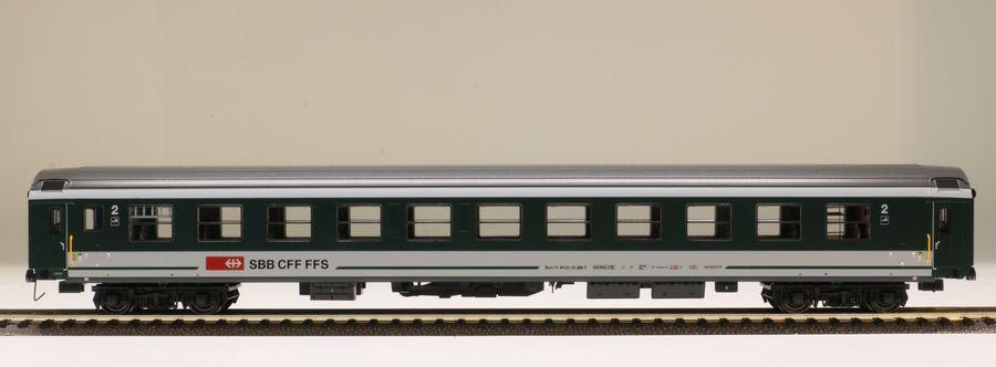 LS Models 47214-h0-dc - persone Wagenset 2 pezzi SBB ep5b VERDE-GRIGIO OVP