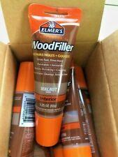 Lot Of 6 Walnut Elmers E859 Carpenters Wood Filler 325 Oz Tube Free Ship