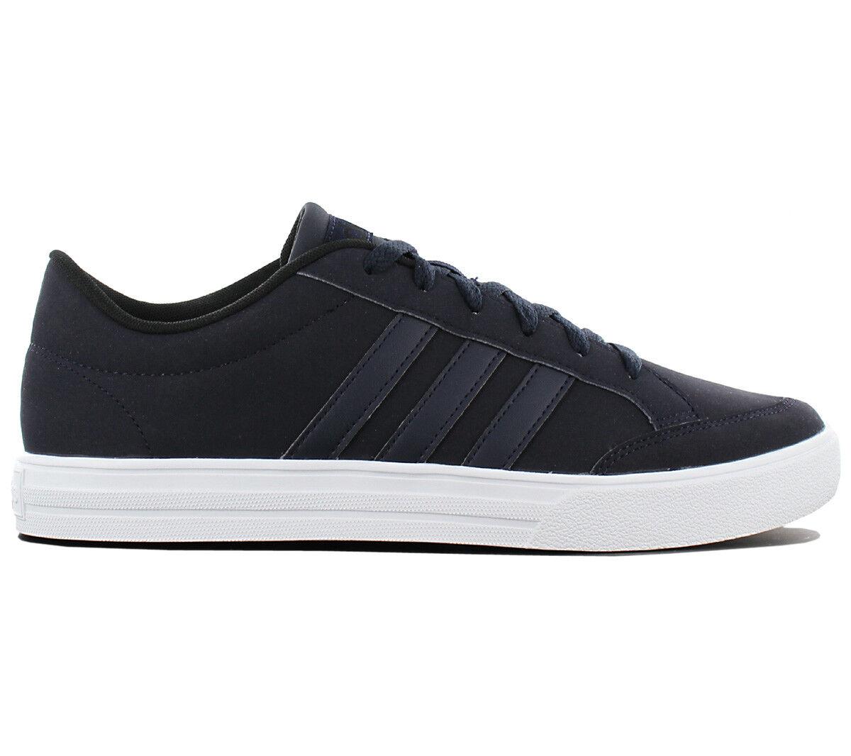 Adidas VS Set Low Herren Turnschuhe Schuhe Grau Grau Grau Turnschuhe B43891 Skaterschuhe NEU 86c2d6