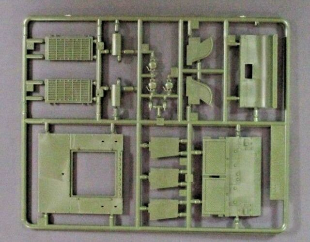 Academy 1/35 Scale M4A2 Russian Sherman Parts Tree F from Kit No. 13010