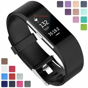For-Fitbit-Charge-2-Replacement-Silicone-Watch-Strap-Band-Men-039-s-Women-039-s
