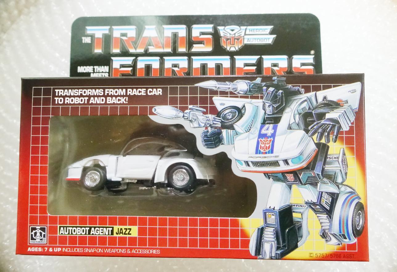 Transformers Autobot AGENTE JAZZ G1 riemettere azione cifra Nuovo in Scatola