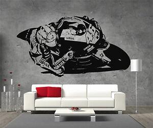 Valentino-Rossi-Moto-GP-Vinyl-Sticker-Wall-Art-Boys-Bedroom-Garage-Play-Room