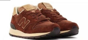 New Balance Men 995 Baseball M995DBG - Made In USA Brown & Tan Size 12 D Men's
