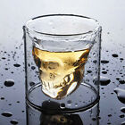 Crystal Glass Vodka Whiskey Skull Head Shot glasses Cup Drinking Ware Home Bar