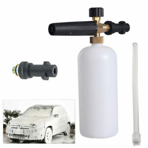 NEW-Spray-Nozzle-Snow-Foam-Lance-1L-Bottle-Cannon-For-Karcher-K-Pressure-Washer