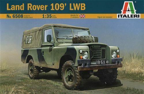 Italeri 6508 - Land Rover 109 Lwb - 1:3 5